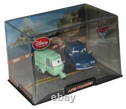 Disney Store Cars 2 Ape & Tomber 143 Toy Car Vehicle Set with Case