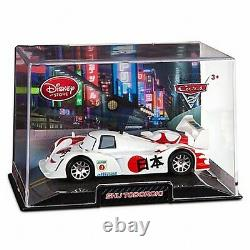 Disney Store Cars 2 Die Cast Collector Case Shu Todoroki 143 Scale NEW