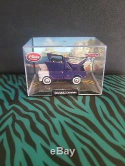 Disney Store Cars 2 Dracula Mater Die Cast New in Collector Case