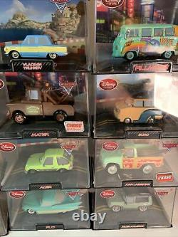 Disney Store Cars/Cars 2 Lot (18 Cars) In Case (See Notes)