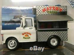 Disney Store Cars Taco Truck Mater In Collector Case 143 New Discontinued