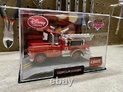 Disney Store/Pixar CARS DieCast In Collector Acrylic Case 143 (Lot Of 12) Mater