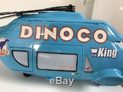 Disney cars Dinoco Helicopter Carrying Case 23 Long