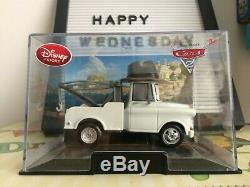 Disney store Die cast Cars Mater Private Eye Detective Mater PI 143 Custom Case