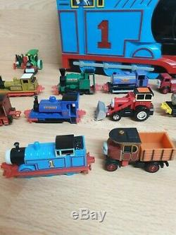 ERTL Thomas the Tank Engine and Friends Diecast Train Bundle + Case RARE