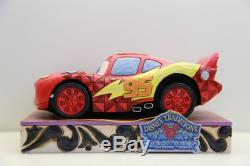 Enesco Disney Traditions Show Case Collection CARS Lightning McQueen Ka-Chow