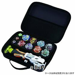GENUINE TOMY BEYBLADE Burst B-68 Bladers Launcher Soft Carrying Case Black