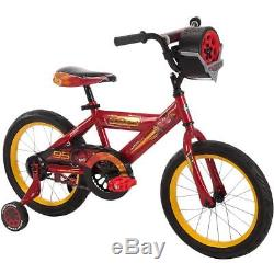 HUFFY DISNEY CARS 3 16 BIKE with RACE-READY TIRE CASE