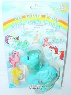 Hasbro My Little Pony MEDLEY Italy + CARRY CASE + 15 MLP Pony Character Figures