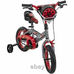 Huffy Disney Cars 12 Kids Bike with Tire Case Quick Connect Assembly
