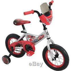 Huffy Disney Cars 3 12 Bike with Race-Ready Tire Case