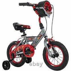 Huffy Disney Cars Kid Bike Quick Connect Assembly Tire Case Storage & Trainin