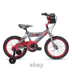Huffy Disney Cars Kid Bike Quick Connect Assembly, Tire Case Storage Training