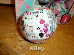 LOL Surprise Balls Winter Disco Lils Sisters 16 Dolls Full Case With Display Box