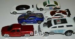 Lot of 87 Matchbox Hot Wheels Maisto and Disney Pixar Die Cast Cars with case