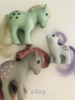 My Little Pony Made In Argentina Lot + Carry Case