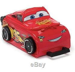 Official Disney Car 3 Lightning Mcqueen Rolling Luggage Case Trolley