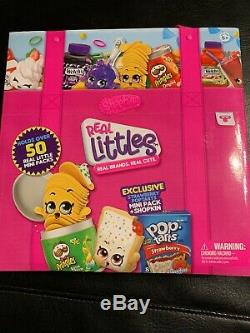 Shopkins Season 12 Real Littles Complete 50 Piece Set And Carring Case