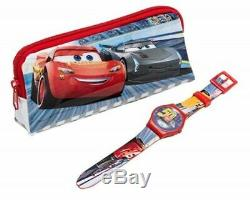 TRADE JOB LOT OF 60 X Disney Cars Digital Watch and Pencil Case Set