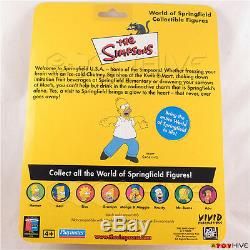 The Simpsons UK exclusive Apu action figure Vivid logo with ProTech case