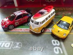 Tomica 13 Units With More Disney Cars Panorama Case
