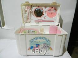 Vintage My Little Pony Lunch Box / Dressing Case Top Toys 1986 G1 Nonuse